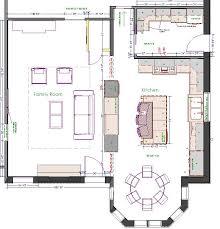 large kitchen plans 54 best design et fabrication pf images on kitchen