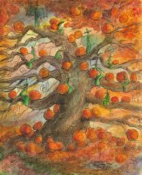 halloween trees john randall york fantasy art halloween tree prints