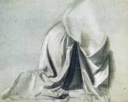 Drapery Art The Annunciation By Leonardo Da Vinci