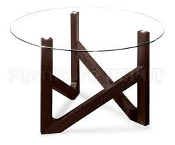 Wooden Base For Glass Dining Table Dining Table Bases For Glass Tops Mister Bills