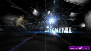 after effects free text templates dirty metal text after effects project revostock free after