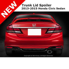 honda civic 13 13 15 honda civic si 4dr led trunk rear spoiler painted taffeta