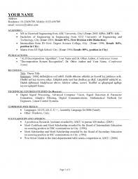 10 How To Create A How To Make Proper Resume Download How To Write A Proper Resume