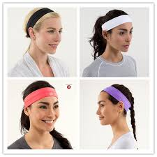 lulu headband hot sale women headband lulu brand sport girl hair