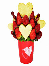 send fruit bouquet blooming hearts fruit bouquet sa florist