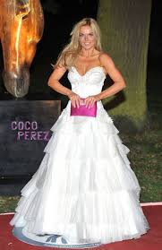Wedding Dress Raisa Geri Halliwell Walks Down The Red Carpet Cocoperez Com