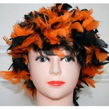 feather wigs costume wigs halloween wigs