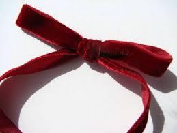 velvet ribbon velvet ribbon
