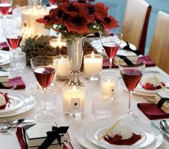 christmas table setting ideas chillisource