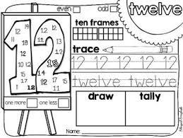 216 best kindergarten math numbers images on pinterest math