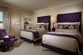 dark purple room single bed on platform drawers furnished
