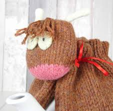 Cosy Highland Cow Tea Cosy By My Baboo Notonthehighstreet Com