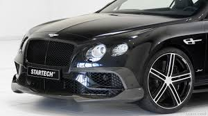 bentley startech 2016 startech bentley continental gt v8 speed front bumper hd