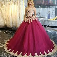 fuschia wedding dress get cheap bridal gown dress fuschia aliexpress