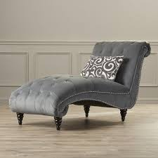 Upholstered Chaise Lounge Unique Best 25 Grey Chaise Lounge Ideas On Pinterest Tufted Chair