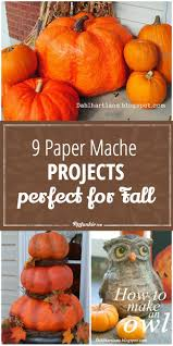 Paper Mache Ideas For Home Decor 9 Paper Mache Projects Perfect For Fall Tip Junkie