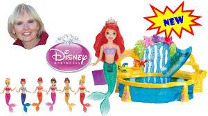 The Little Mermaid Bathroom Set The Little Mermaid Disney Princess 7 Sisters Dolls Color