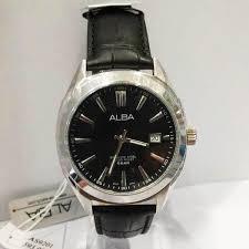 Jam Tangan Alba Pria jam tangan alba original pria as9201 hitam silver loyalwatch