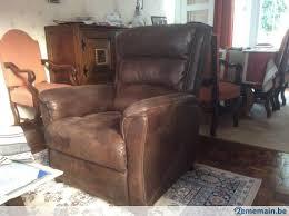 canapé 2 places fauteuil assorti canapé 2 places électrique fauteuil assorti a vendre 2ememain be
