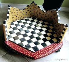 dog beds made out of end tables octagon table dog bed awoof me