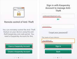 account recovery android how to install kaspersky tablet security android os