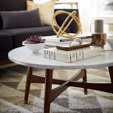 west elm marble top coffee table reeve mid century coffee table marble west elm