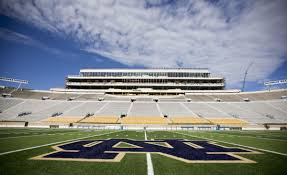 new benches new lights for notre dame stadium as construction