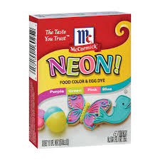 mccormick assorted neon food colors u0026 egg dye mccormick