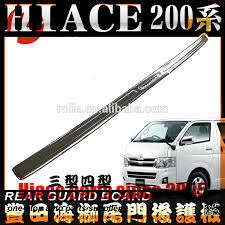 toyota siege tailgate siege chrome toyota hiace 2005 2017 narrow body1695