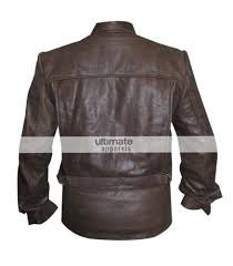 brown leather motorcycle jacket vintage men u0027s distressed brown leather jacket clothing