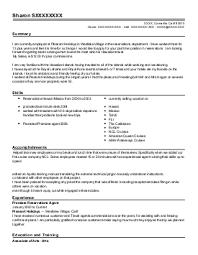 travel consultant resume