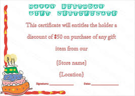 12 birthday voucher templates u2013 free sample example format
