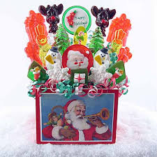 Candy Bouquet Delivery Christmas Candy Bouquet Delivery Send Christmas Candy Bouquet