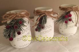 rustic christmas decorations rustic christmas decor christmas jars home decor