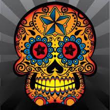 dia de los muertos sugar skulls sugar skull vector freevectors net