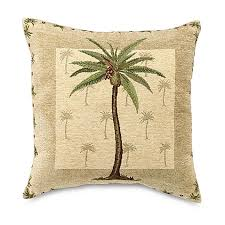Pillows At Bed Bath And Beyond Palm Beach 18 Inch Throw Pillow Bed Bath U0026 Beyond