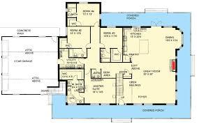 wrap around porch floor plans fabulous wrap around porch 35437gh architectural designs