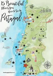 Portugal And Spain Map by 15 Stunning Places You Have To See In Portugal Portugal Cork