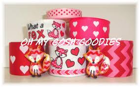 fox ribbon ribbon mix sets