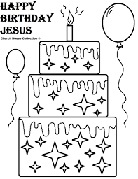 happy birthday jesus coloring pages coloring pages jesus birthday