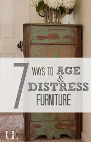 How To Paint Cabinets To Look Distressed 458 Best Paint Furniture Finishes Images On Pinterest Furniture