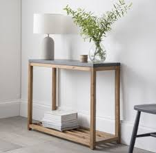 Narrow Console Table Chilson Console Table By Idyll Home Notonthehighstreet