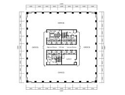 floor plan of office building beijing yintai centre