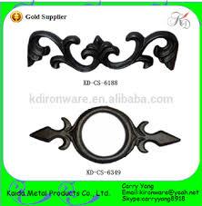 sale popular cast iron ornaments for wrought iron gates fences