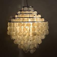 Seashell Light Fixtures Modern Nordic Seashell Chandeliers Lights Fixture 5 Circles