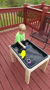 diy 12 toddler sensory table this plan is inexpensive and