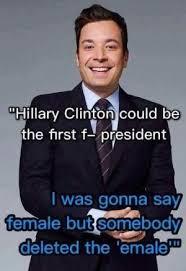 Memes Jimmy - funniest hillary clinton memes jimmy fallon on the first female