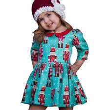 aliexpress com buy girls christmas dress toddler kids baby girls
