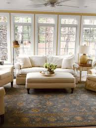 How To Decorate A Living Room by Cottage Style Sunrooms Hgtv