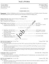 Basic Resume Outline Sample Template Fresh Basic Resumes Templates Comely Resumes Template